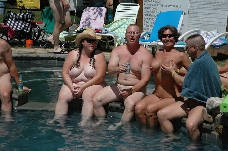 Skinny-dippin: An afternoon at a family nudist colony